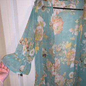 Xhilaration Tops - Floral Kimono